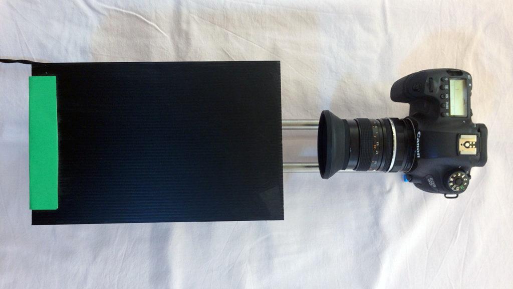 scanner negativi 35mm fatto in casa