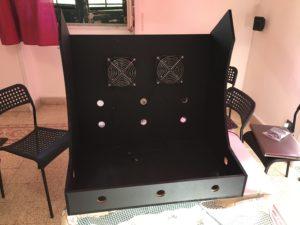 Arcade cabinet bartop