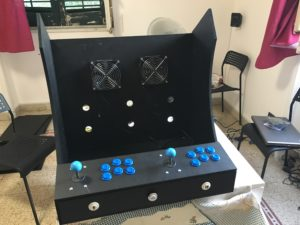 Arcade cabinet keyboard