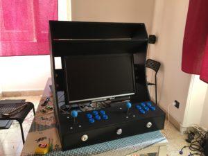 arcade cabinet bartop monitor