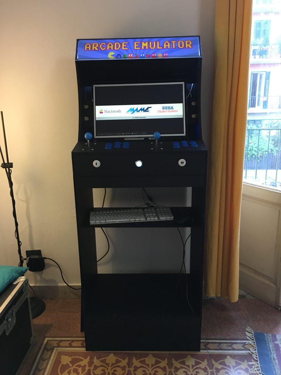 costruire arcade cabinet