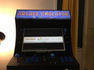 arcade cabinet LED