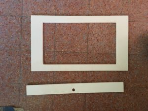 arcade cabinet frame per monitor