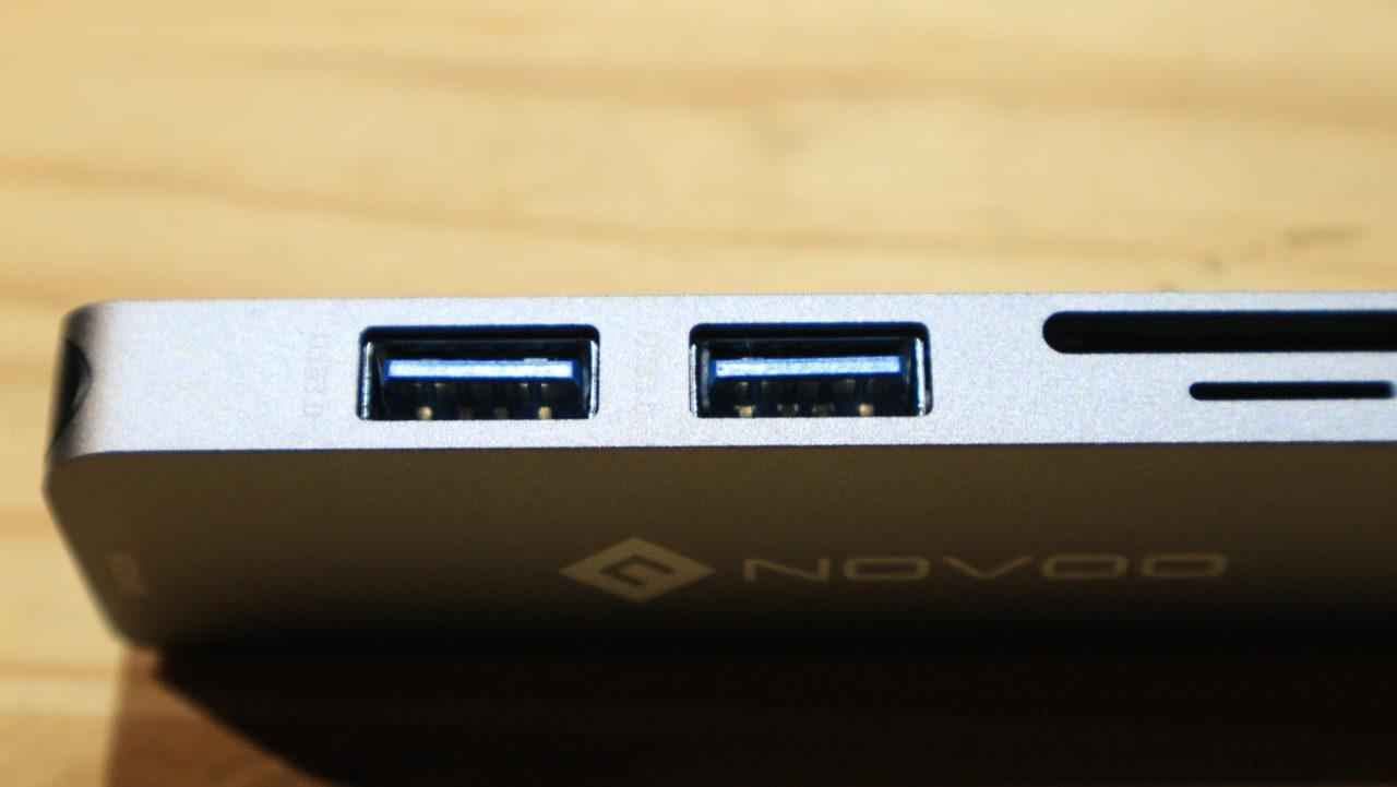 Novoo Hub USB-C recensione